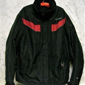 SPYDER Men's XL Black SNOWBOARDING JACKET